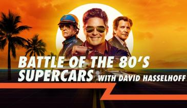 David Hasselhoff sets out to prove how the iconic 80's KITT car inspired and revolutionized the car industry for years to come