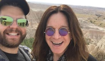 Ozzy and his son hit the road for an unforgettable trip around the USA