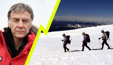 Welcome to the world of Sir Ranulph Fiennes, fearless, brave, spontaneous, self-sufficient, trusting and damn right mad.