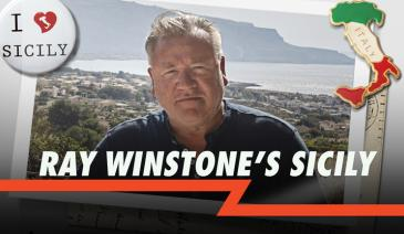 Join BLAZE and explore the beautiful Mediterranean island of Sicily with the Sexy Beast himself, Ray Winstone