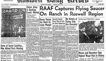 What might've happened in the small New Mexico city of Roswell back in July 1947…?