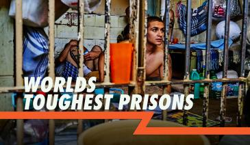 These are six of the toughest prisons in the world. Prisons so tough, even gang bosses and killers learn the meaning of fear.