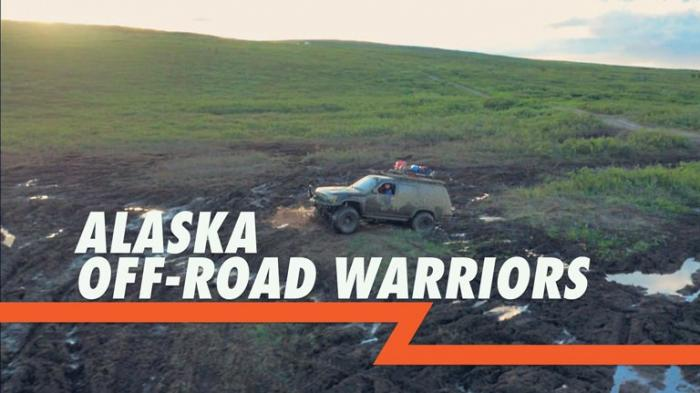 Alaska Off-Road Warriors pits five teams of two in a grueling off-road challenge across Alaska.